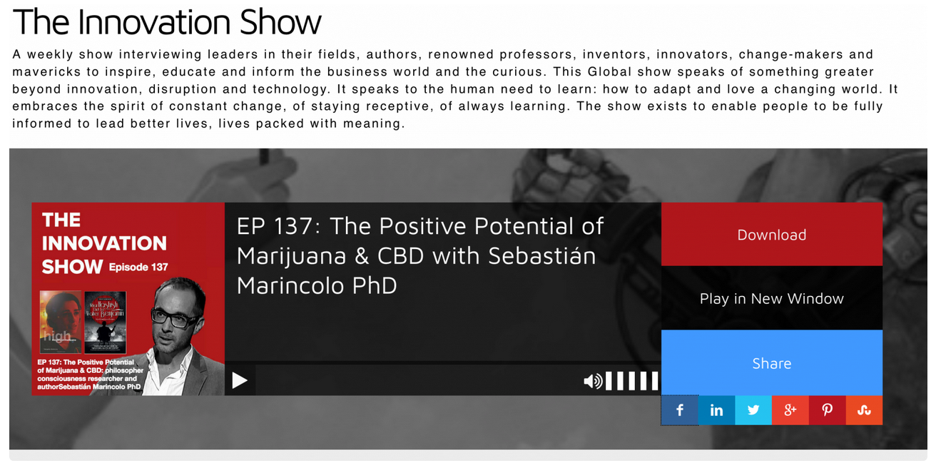 Interview Sebastian Marincolo The Innovation Show Kopie